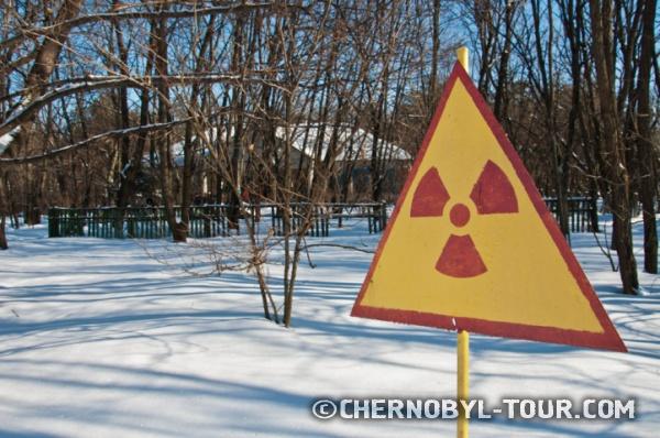 Радиоактивная деревня Копачи в Чернобыльской зоне
